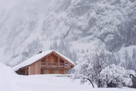 vue extérieur hiver