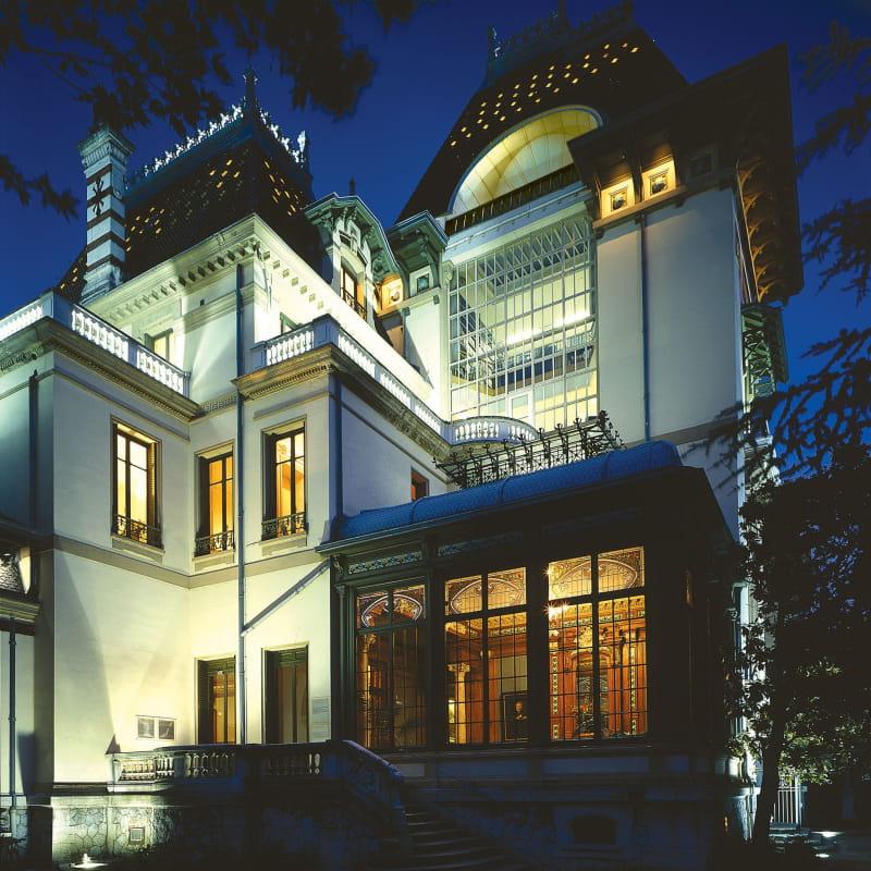 Villa Lumière de nuit