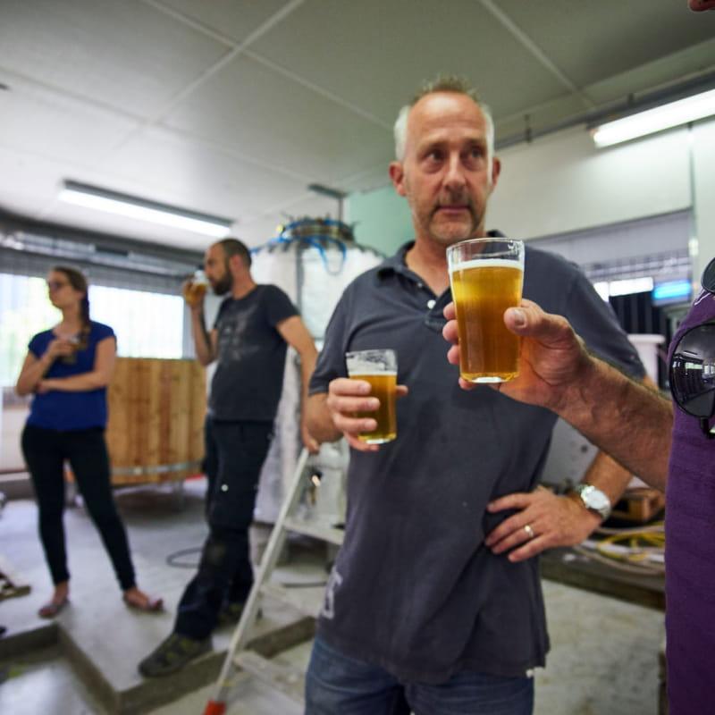 Dégustation des bières