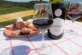 'La Cadole du Vigneron' à Fleurie (Rhône - Beaujolais des crus - vignoble) : accueil chez le vigneron, producteur de Fleurie de Père en Fils...