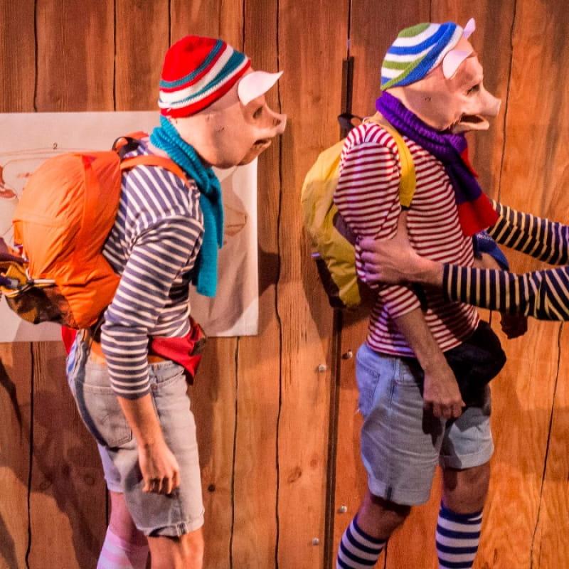 Les 3 cochons (et le dernier des loups) ● Théâtre de Roanne