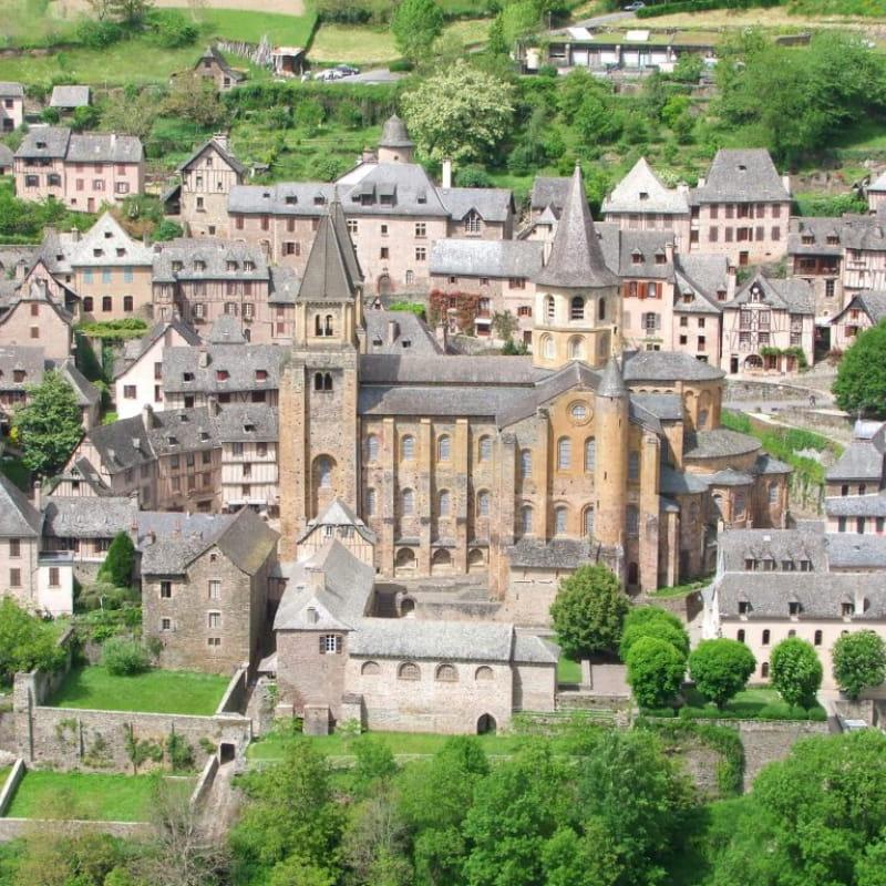 Saint JAcques à pied : Du Puy en Velay à Conques