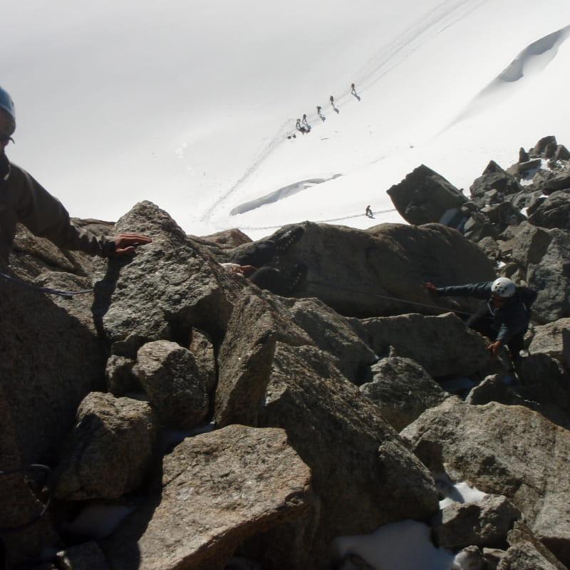 Stage alpinisme Aig.Tour