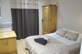 Chambre à l'Hôtel La Turra à Termignon