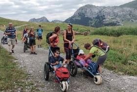 Hippocampe - Le fauteuil tout terrain multi- activités et toutes saisons