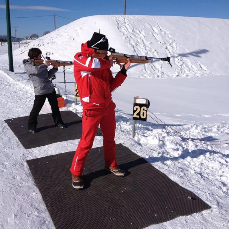 Initiation biathlon ESF