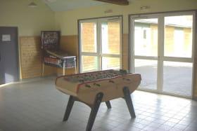 Maison Familiale Rurale Gelles salle de jeux