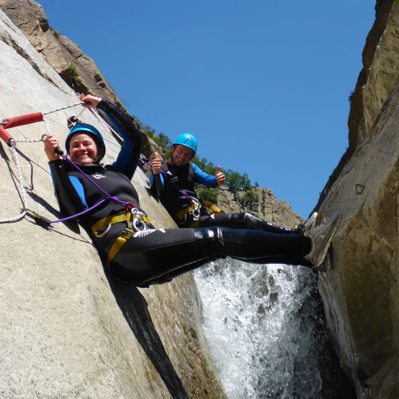 Canyon Journée Chassezac Intégral avec Nature Canyon