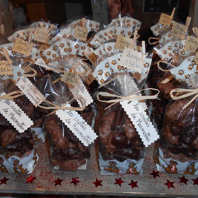 Chocolats artisanals crottes de marmottes