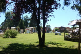 Camping de locatifs à Excenevex