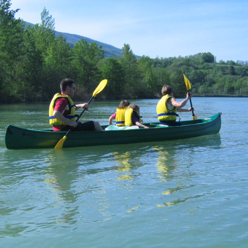 Canoë Kayak : descentes du vieux Rhône - la Chanazienne