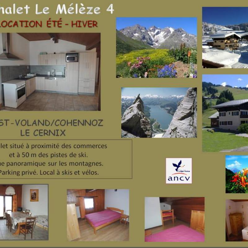 Plaquette, Chalet Le Mélèze 4