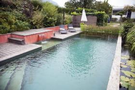 piscine au Jardin d'Alice