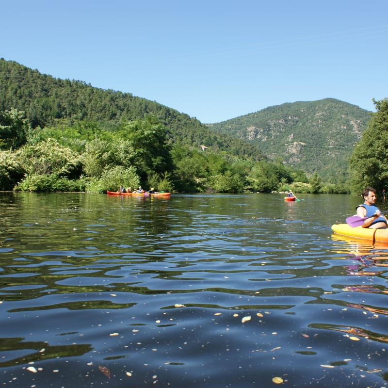 activité sur la rivière