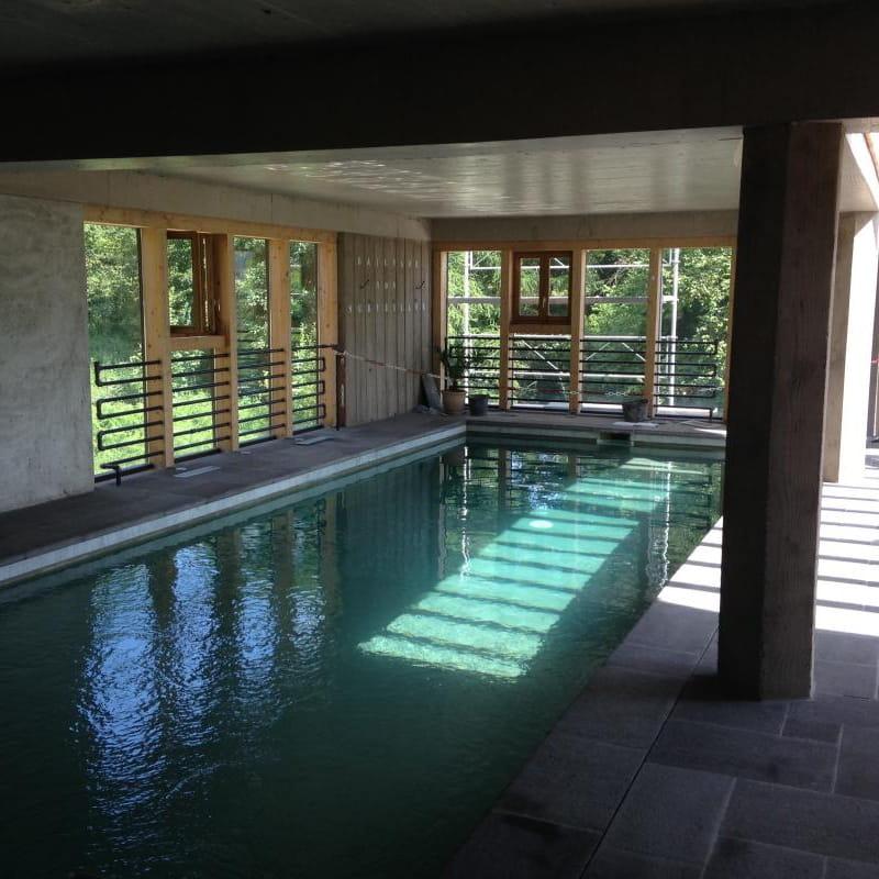 Gite Le Poirier Fondant au Mayet de montagne dans l'allier en Auvergne, la piscine