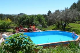 la piscine avec nage à contre courant Ardèche Mas du tracol