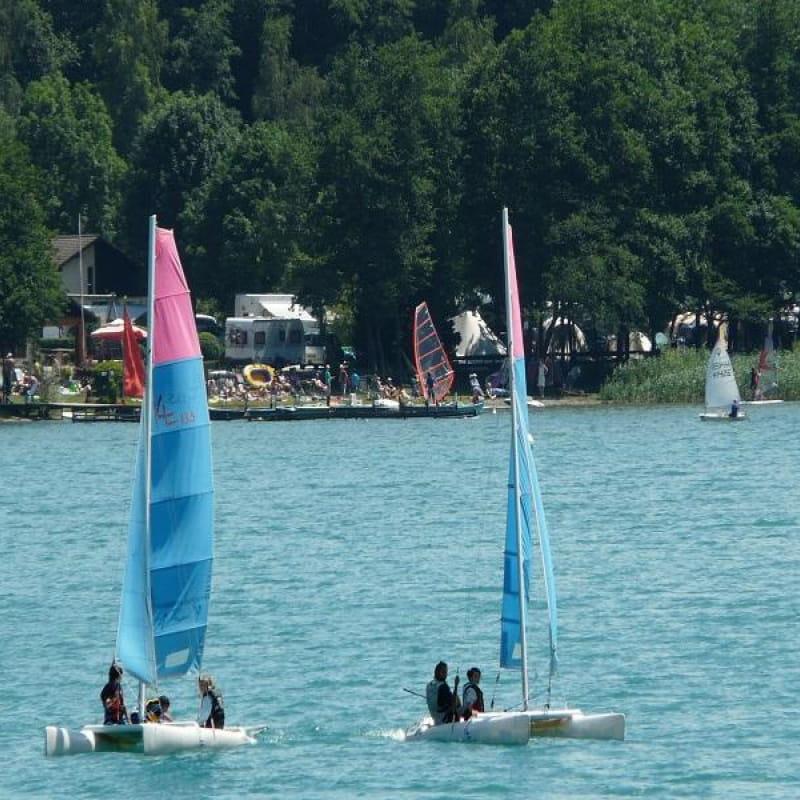 Plage de la Bergogne, Lac de Laffrey