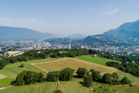Vue Nord de Chambéry