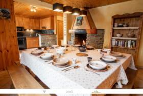 Très bel appartement pour 12 personnes à Bonneval sur Arc, dans le Chalet le Neve