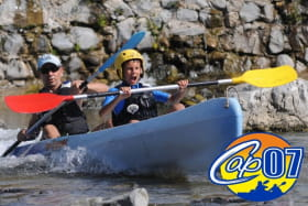 Canoë - Kayak de Vallon à Châmes - 8 km avec Cap07 Canoë