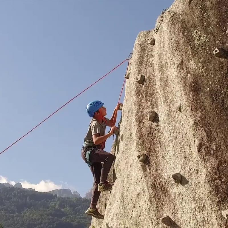 Escalade rocher de Rochefort