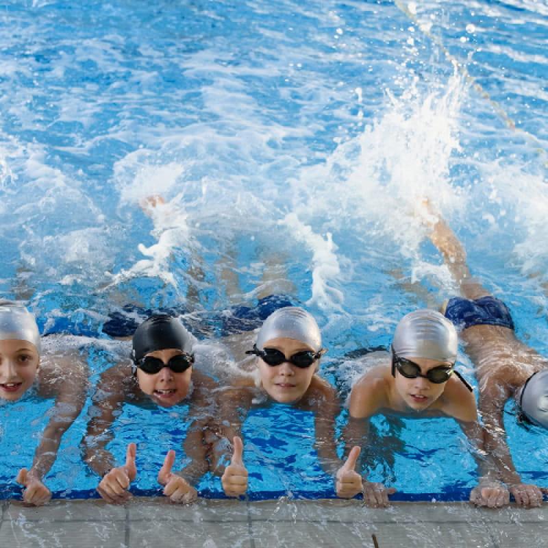 Ecole de natation à Thônes