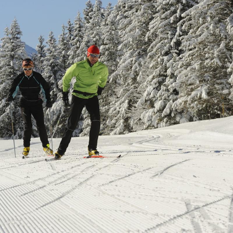 Ski de fond dans le Vercors