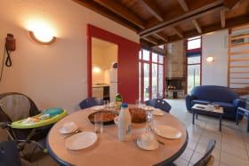 Espace salon et salle à manger