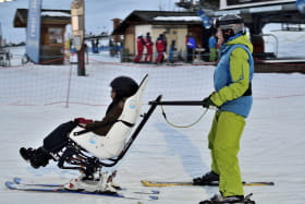 Tempo duo- Fauteuil de descente de pistes de ski alpin pour une glisse partagée