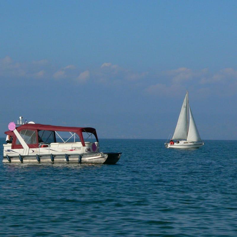 Promenade à bord du bateau