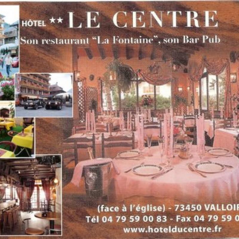 La Fontaine- Hotel Le Centre