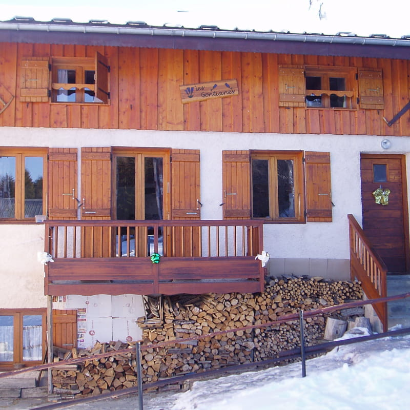 Chalet individuel Les Gentianes - 9 pers.