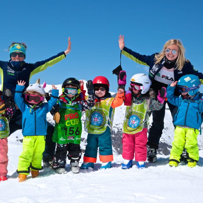 Cours collectifs enfants ski / snowboard sans remontées mécaniques 2 heures