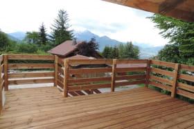 Terrasse bois privative