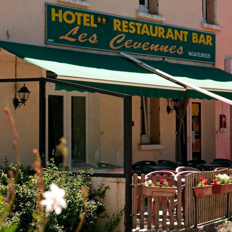 Bar de l'hôtel Les Cévennes