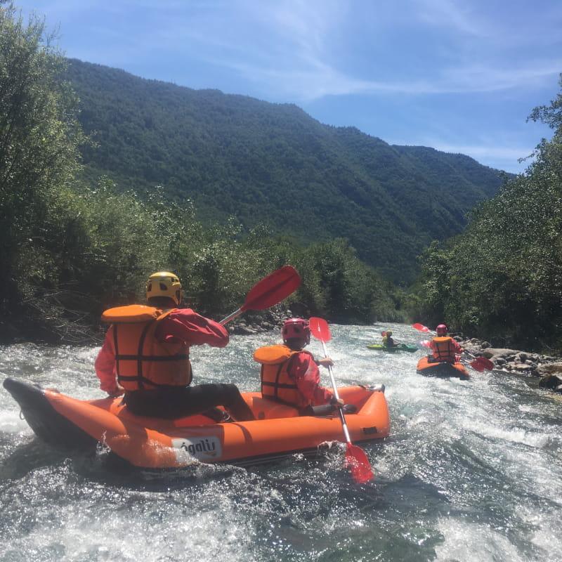 Sortie rivière canoe-raft Asbel à Valbonnais