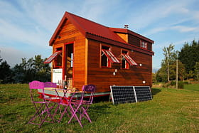Tiny House - le grenier du rocher