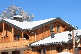 Place du Village: L'Oustal à Albiez