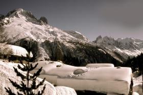 gîte la boerne argentière chamonix hiver