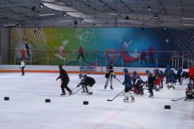 équipe hockey enfants