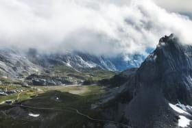 Refuge du Col de la Vanoise - vue Aiguille
