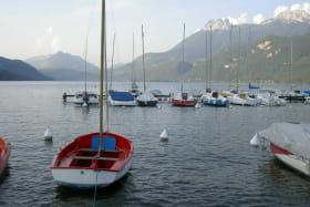 port du bout du lac d'Annecy