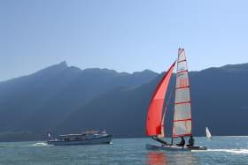 Croisière et voile sur le lac du Bourget