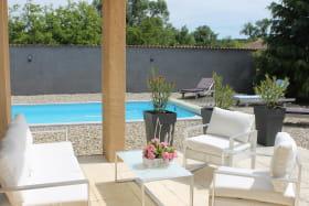 Ardegite 2 : Maison de plain pied, piscine privée