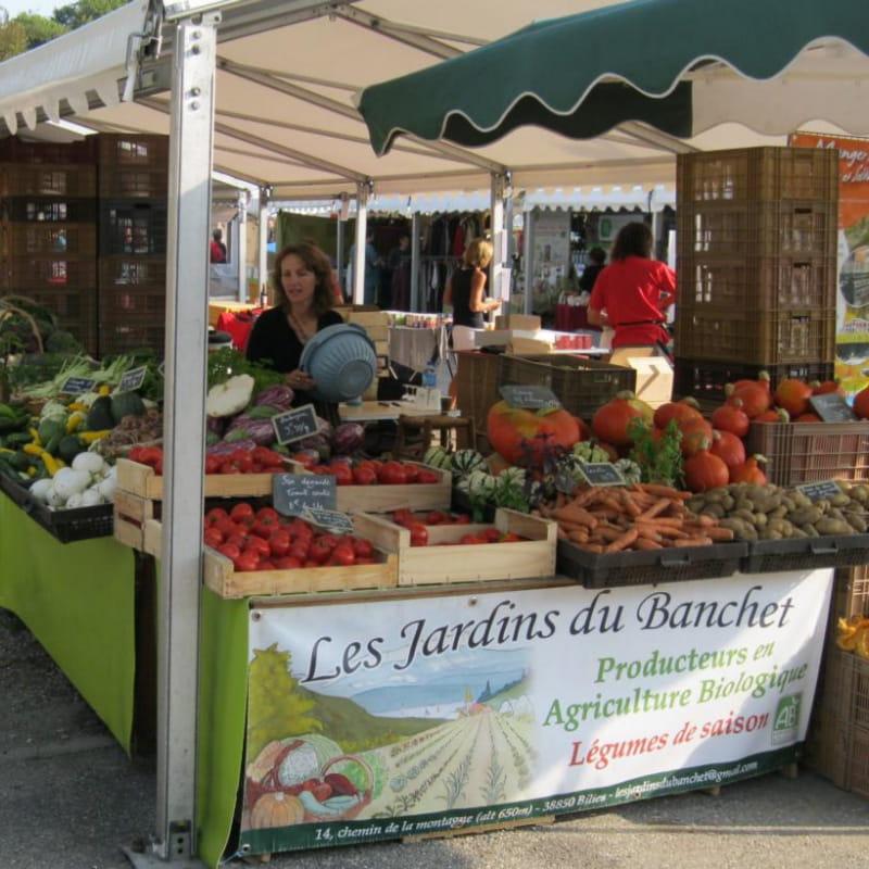 Les Jardins du Banchet sur le marché