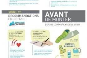 Modalités de réouverture des refuges gardés en Haute-Savoie