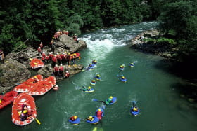Rafting/hydrospeed sur la Dranse