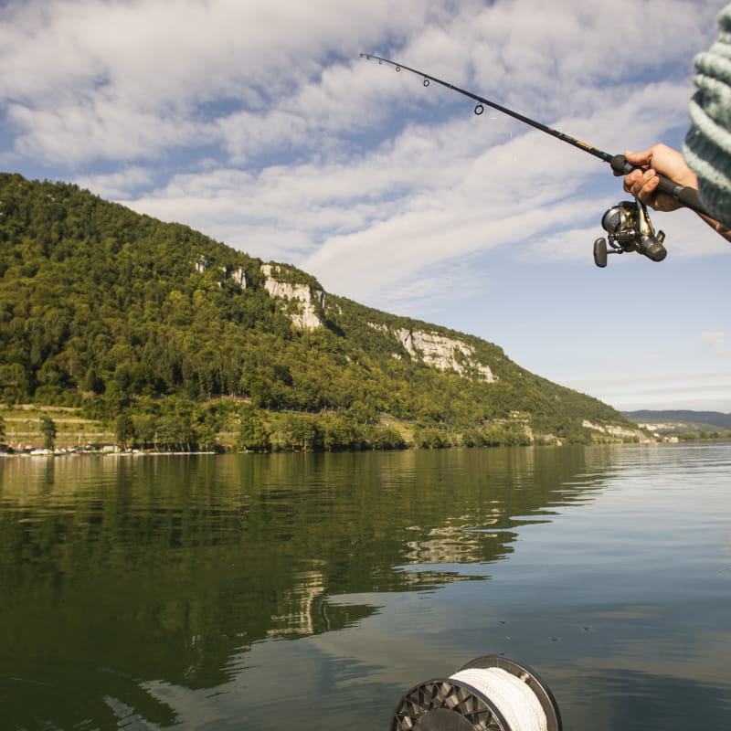 Pêche lac de Nantua