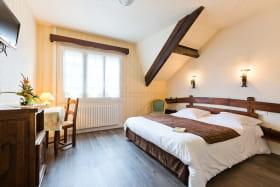 La chambre parfaite pour une nuit douce et calme