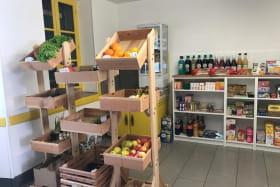 La petite épicerie du village près de la maisonnette de La Chabanne dans l'Allier en Auvergne